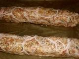 Sekaná (fašírka) s medvedím cesnakom /Sekaná s medvědím česnekem