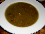 Šošovicová polievka  (Čočková polévka)