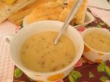 Šošovicová polievka so smotanou