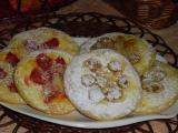 Tvarohové koláčiky s ovocím /Tvarohové koláčky s ovocem