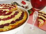 Tvarohový koláč z jogurtového cesta