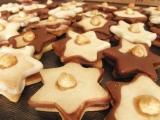 Vianočné pečivo - Plnené hviedičky