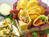 Vyprážané talianske pirohy – panzerotti
