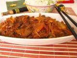 Wok - Opekaná hovädzina na čínsky spôsob, alebo hovädzia čína