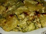 Zapečené zemiaky s cuketou /Zapečené brambory s cuketou