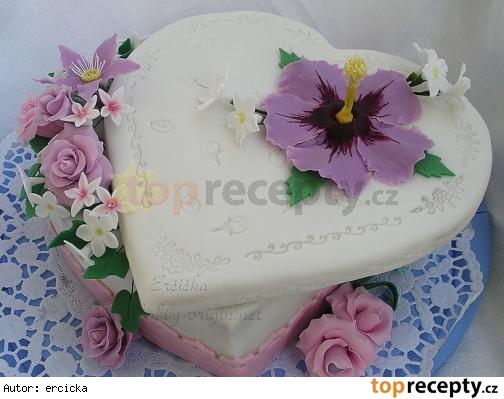 Bezlepkova torta s parizskym kremom a cokoladou