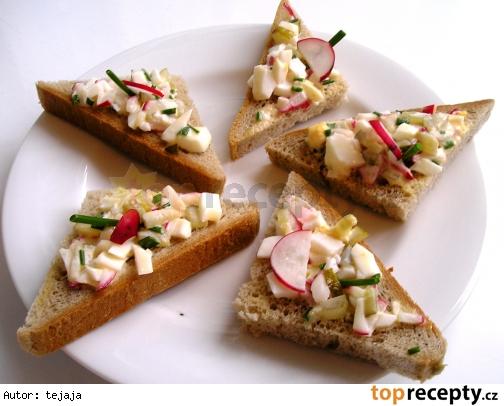 Chuťovky – trojuholníčky
