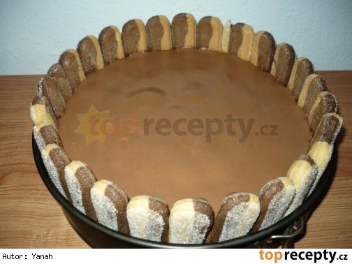 Čokoládovo-banánová torta nepečená