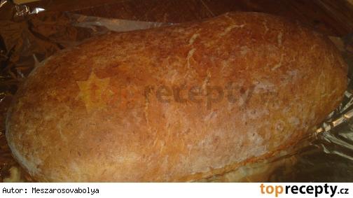 Domáci zemiakový biely chlieb