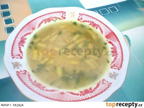 Fazuľková polievka s pšenom (prosom)