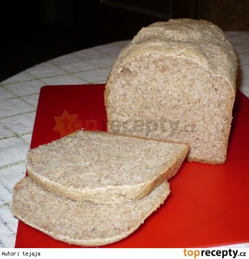 Grahamovo-pšeničný chlieb