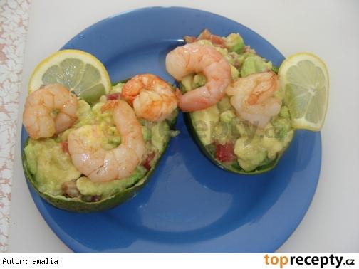 guacamole s krevetami