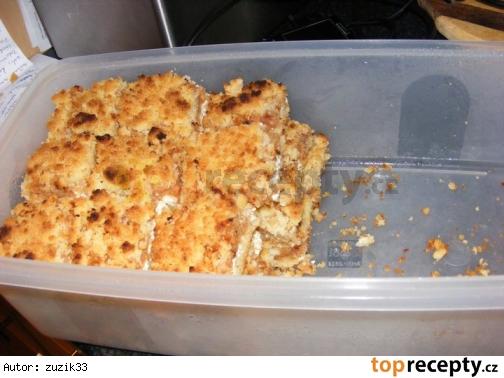 Jablkovo-tvarohovy kolac