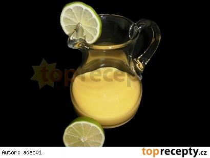 Kokosovo-citrónová poleva