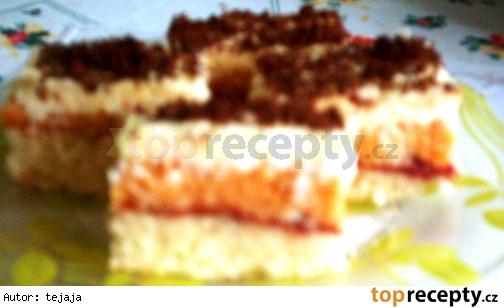 Kokosovo-punčové rezy