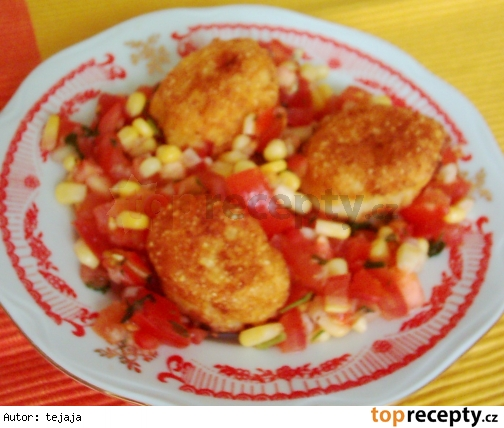Kukuričné guličky so zeleninou