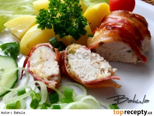 Kuracie prsia pečené v slanine /Kuřecí prsa pečená ve slanině
