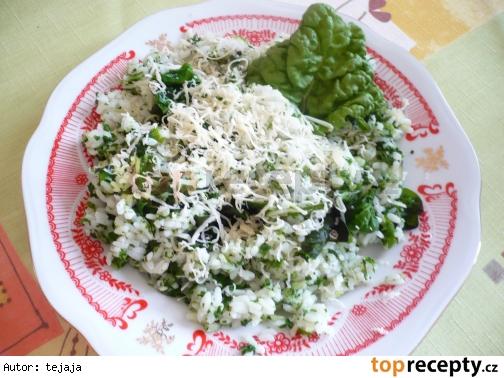Mangoldové rizoto