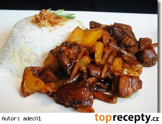 Marinované kura Sambal Ketjap