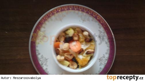Marocký mrkvový šalát