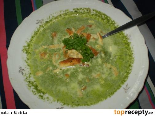 Moja spenatova polievka