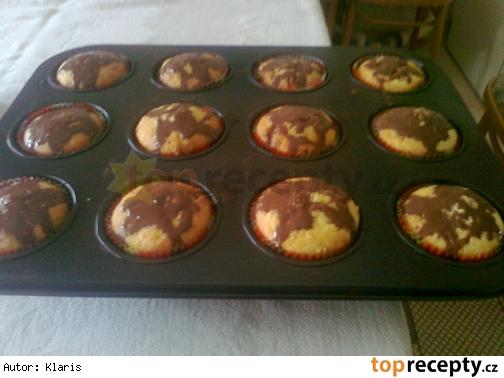 Muffiny s tvarohom a ovocným želé