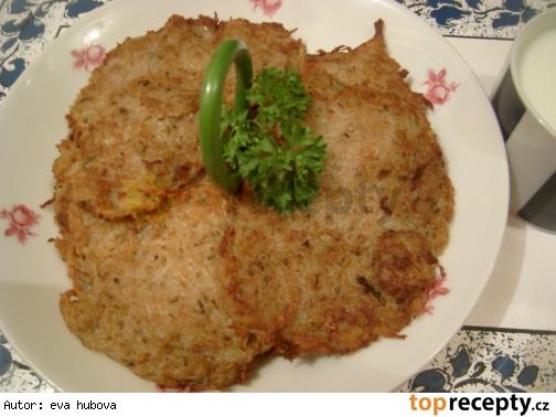 Netradičné zemiakové placky /Netradiční bramborák