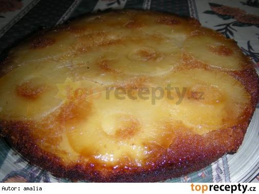 obrateny ananasovy kolac