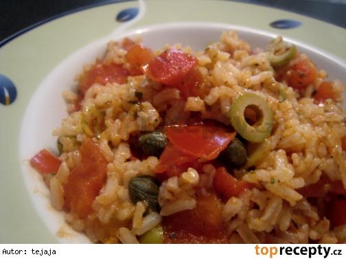 Paradajková ryža