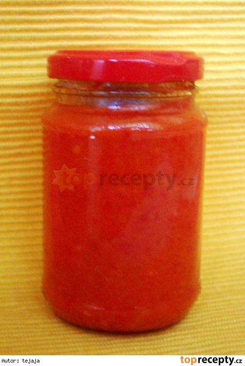 Paradajkovo-papriková pomazánka