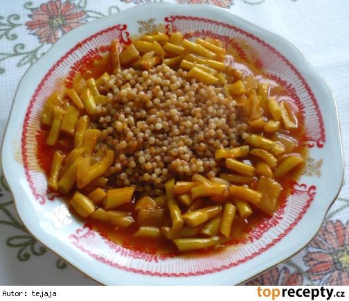 Pikantné fazuľky