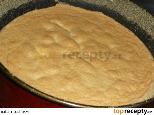 Piškótový korpus na tortu