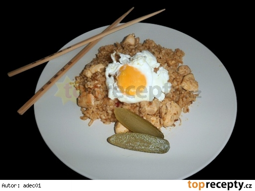 Pražená ryža - Nasi Goreng