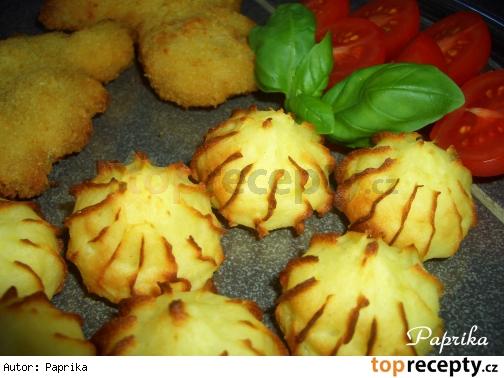 Pusinky zo zvyšku zemiakovej  kaše