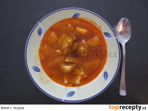 Rýchla zemiaková polievka