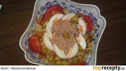 Salade mechouia - šalát mešuja