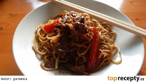 """Sladko-štipľavá """"čína"""" z hovädzieho mäsa"""