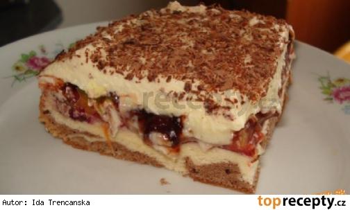 4fcb4f0aea9cd Slivkové kocky s vanilkovým krémom - Top Recepty.sk