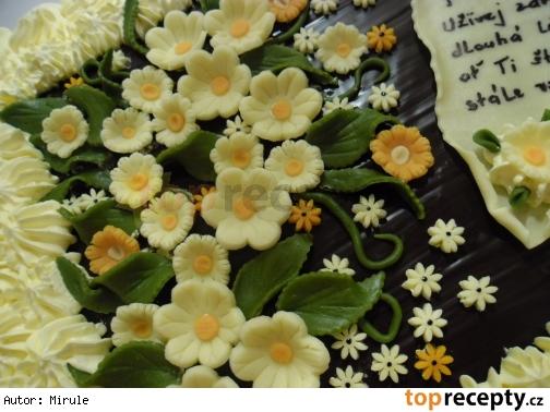 Torta - zdobenie  /Dort - Zdobení