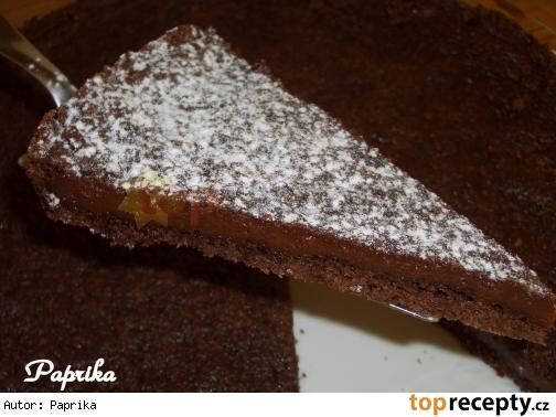 Torta alla gianduja - nugátový dort