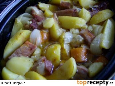 Výdatný írsky Stew