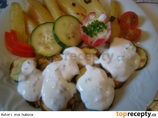 Bulharské cukety s jogurtom