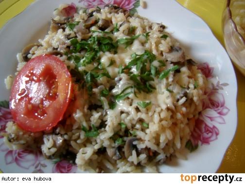 Hríbové rizoto