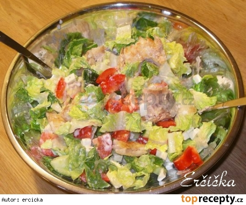 Jednoduchy rybi salat