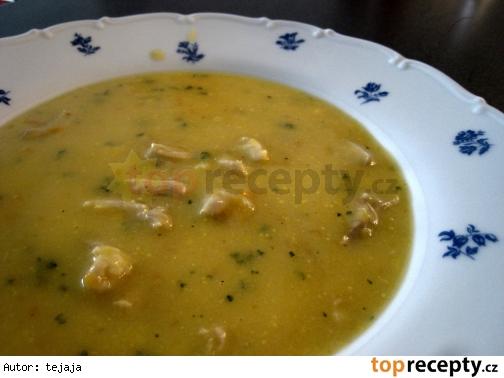 Krémová kuracia polievka