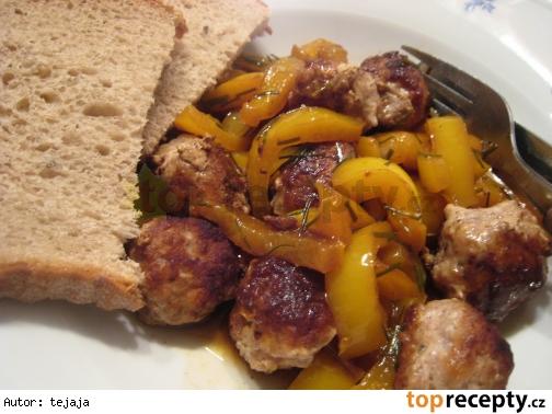 Papriková panvica s mletým mäsom