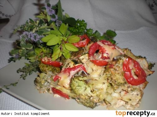 Zapekaná zeleninová zmes / dietne