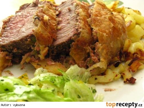 Beef Wellington / Hovädzie  Wellington tak ako to vidim ja