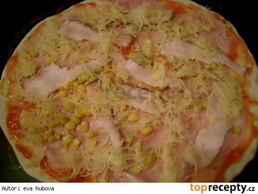 Cesto na pizzu Těsto na pizzu