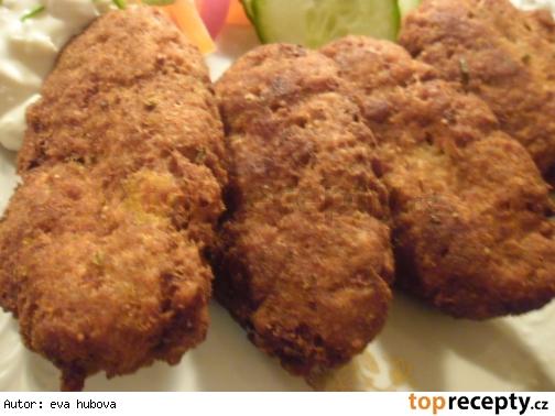 Karbenátky z vareného slepačieho mäsa /Karbenátky z vařeného slepičího masa